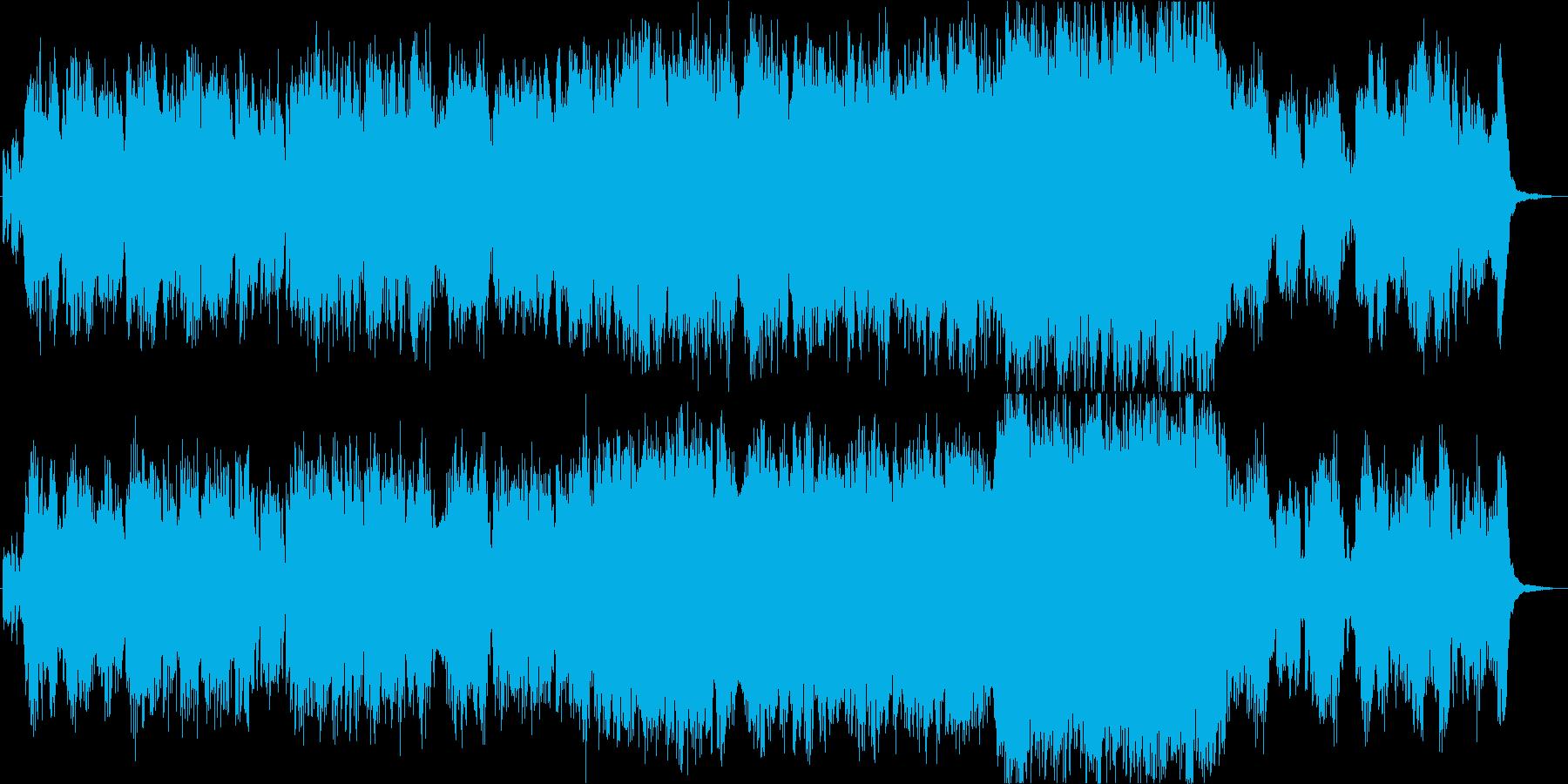 フルート生演奏による別れのテーマの再生済みの波形