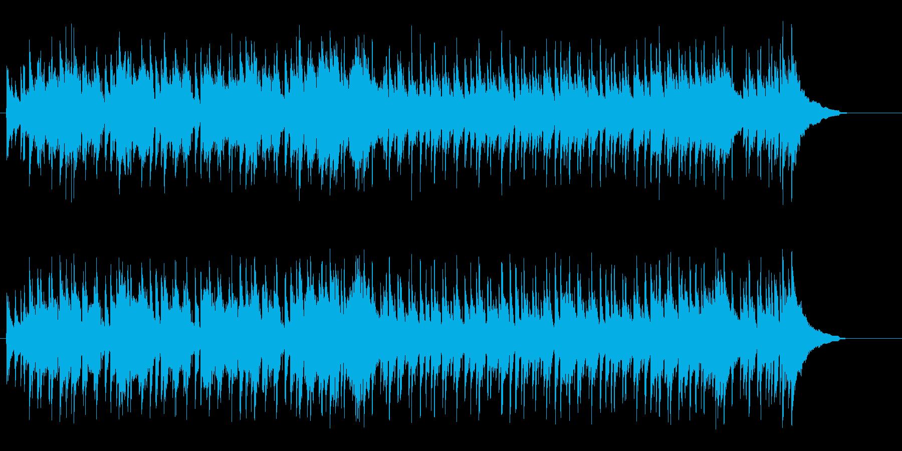 キュートで都会的なボサノバ風ポップスの再生済みの波形