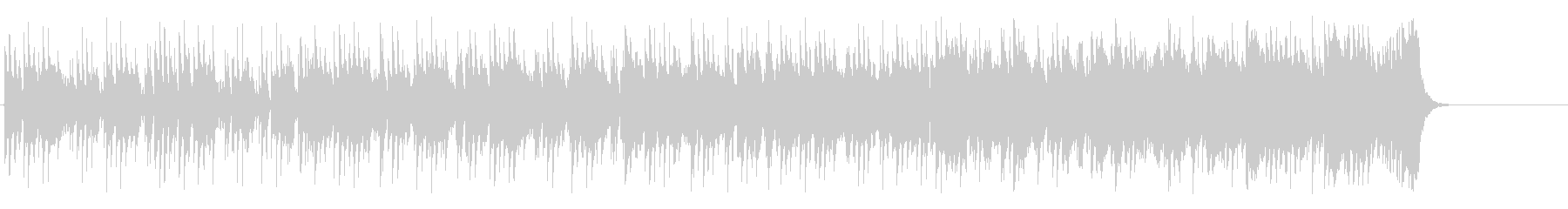 テーマパーク向けポップ(A~サビ~エ…)の未再生の波形