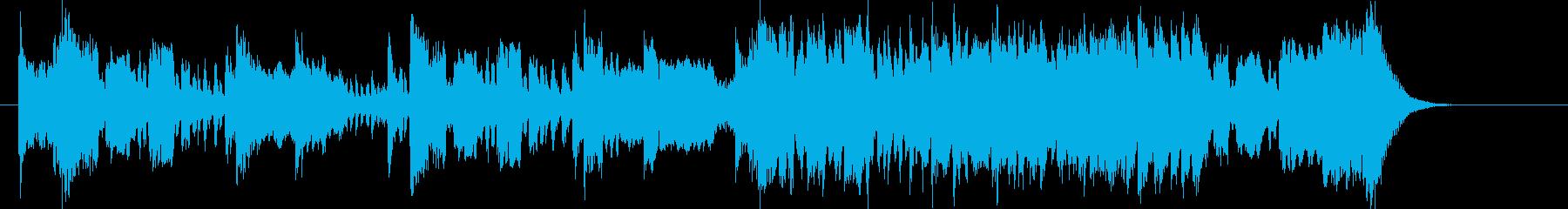 壮大で迫力あるトランペットジングルの再生済みの波形