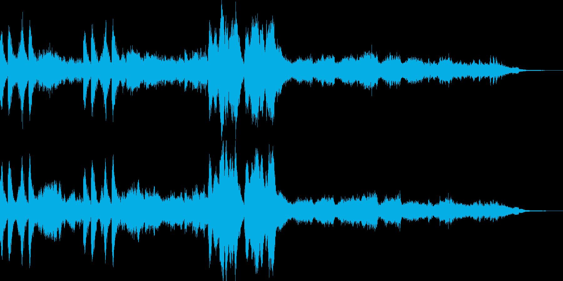 ゲームのイベント時のBGMの再生済みの波形