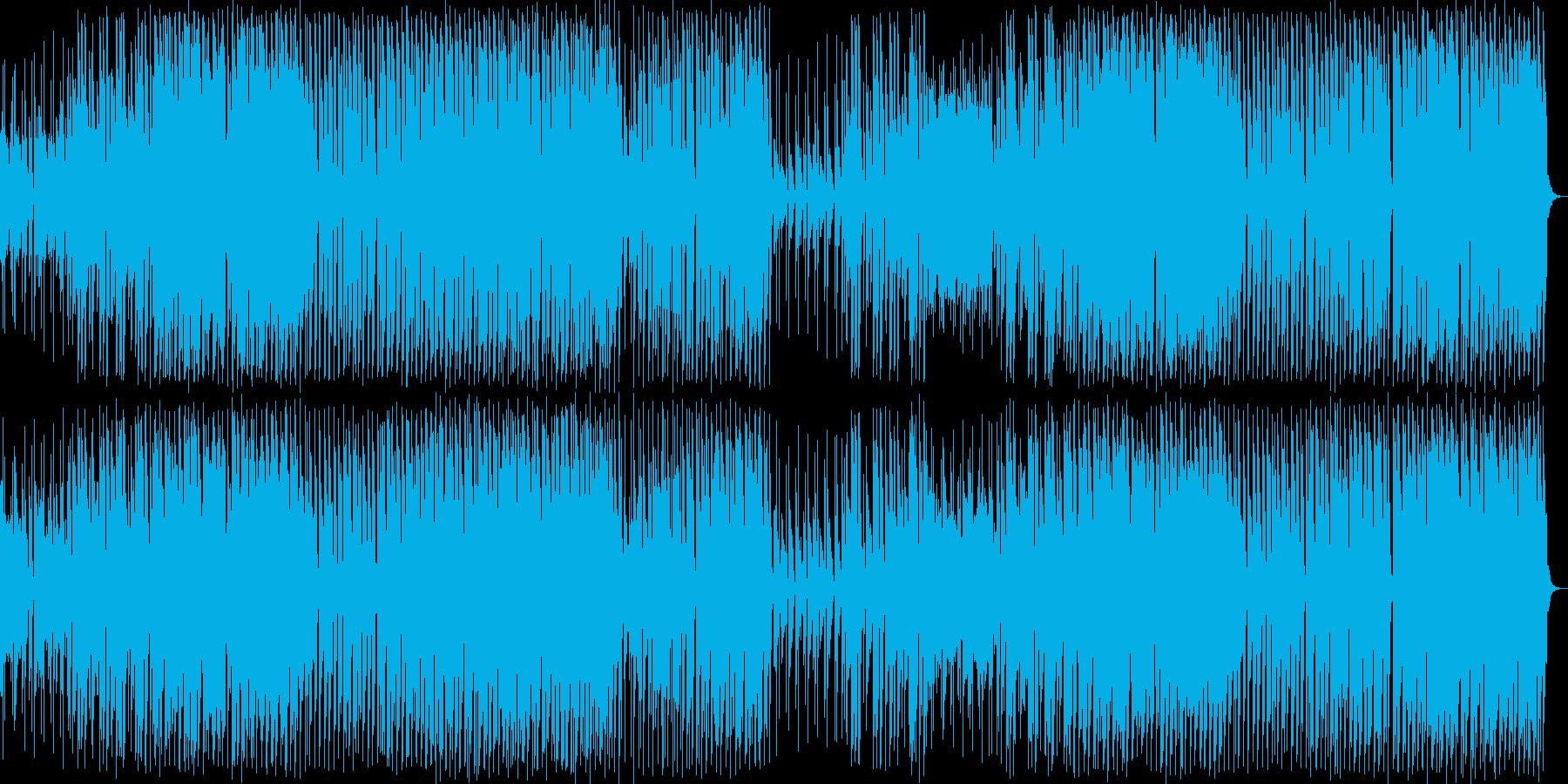 ソフトなedm クラブ調の再生済みの波形