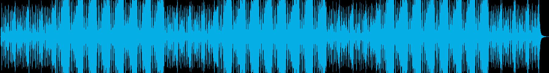 緩めなオケによる出撃・待機・メニュー曲の再生済みの波形