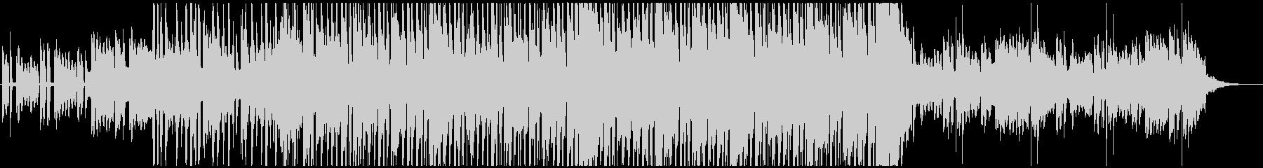 おしゃれなアンビエントチルアウトBGMの未再生の波形