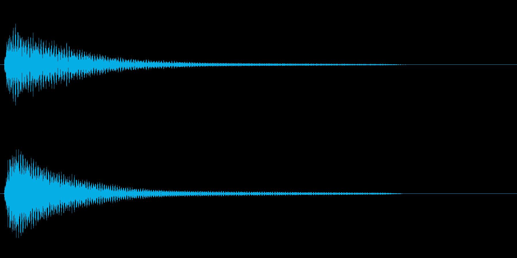 不協和音のピアノです。の再生済みの波形