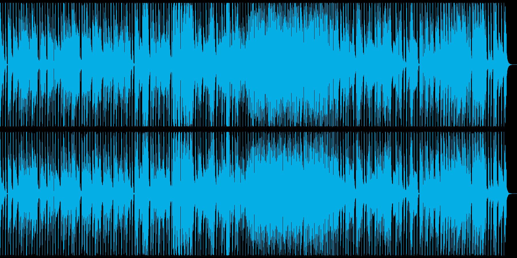 琴、オシャレな現代日本、モダンジャパンAの再生済みの波形