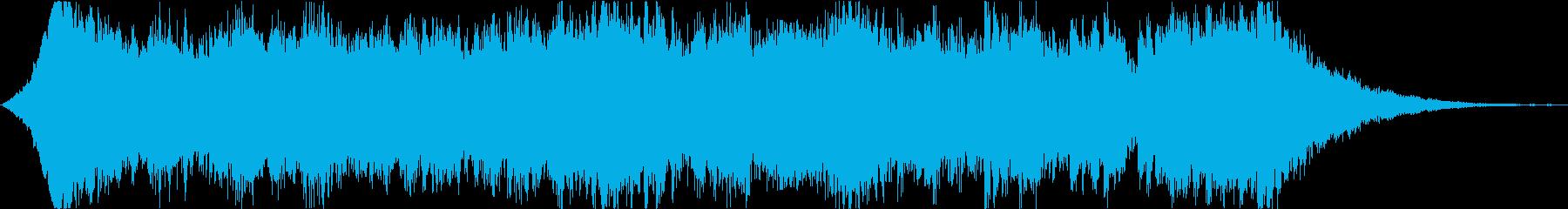 哀愁漂うオーケストラの再生済みの波形