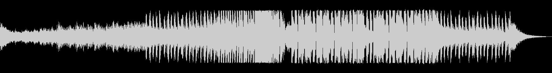 ファンキーポップなEDMの未再生の波形