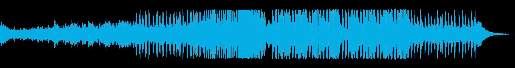 ファンキーポップなEDMの再生済みの波形