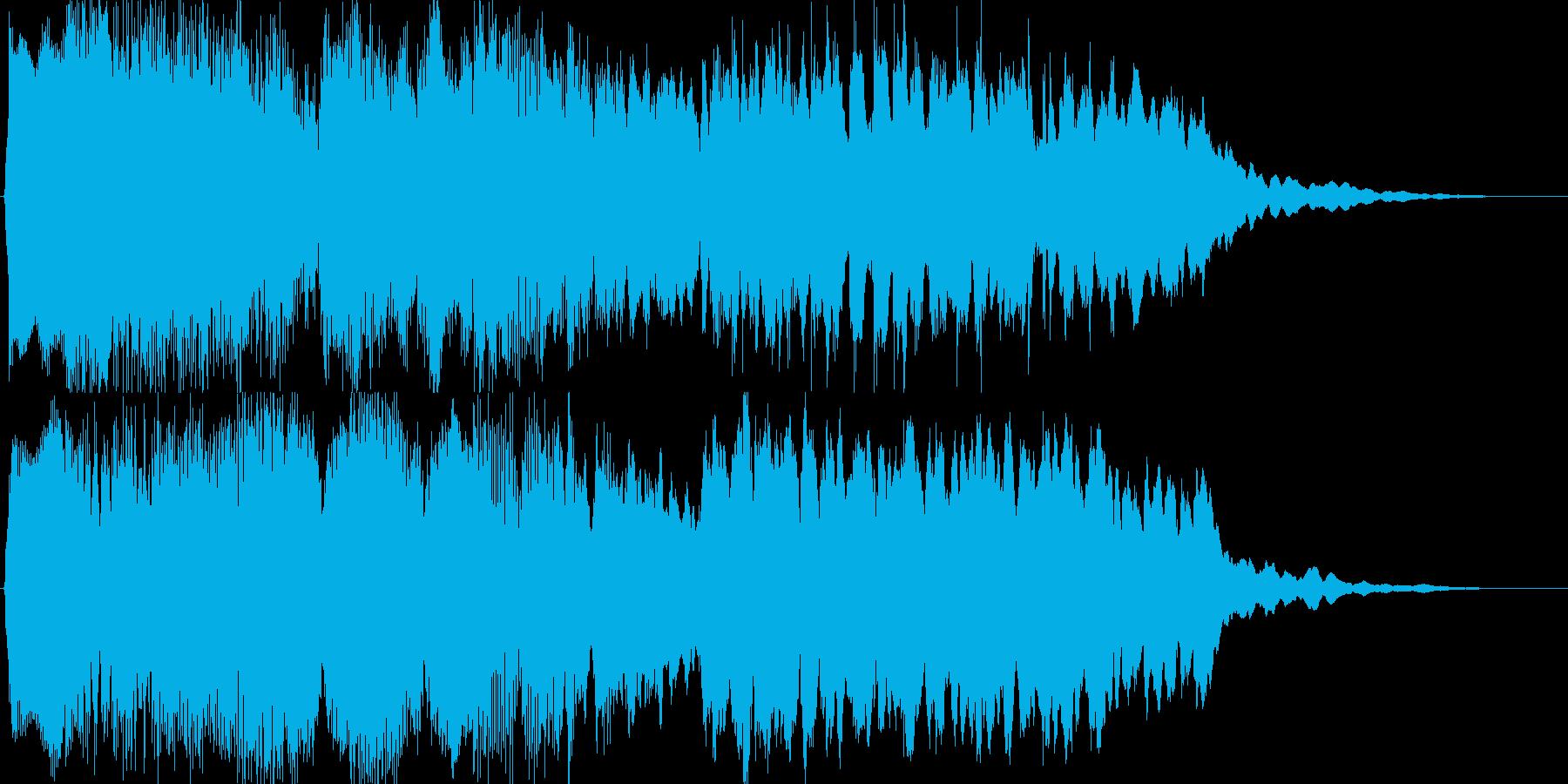 幽玄イメージの和風・オリエンタルジングルの再生済みの波形