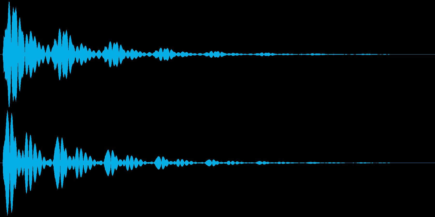 ソナー (戦闘艦、潜水艦等) ポォォン…の再生済みの波形