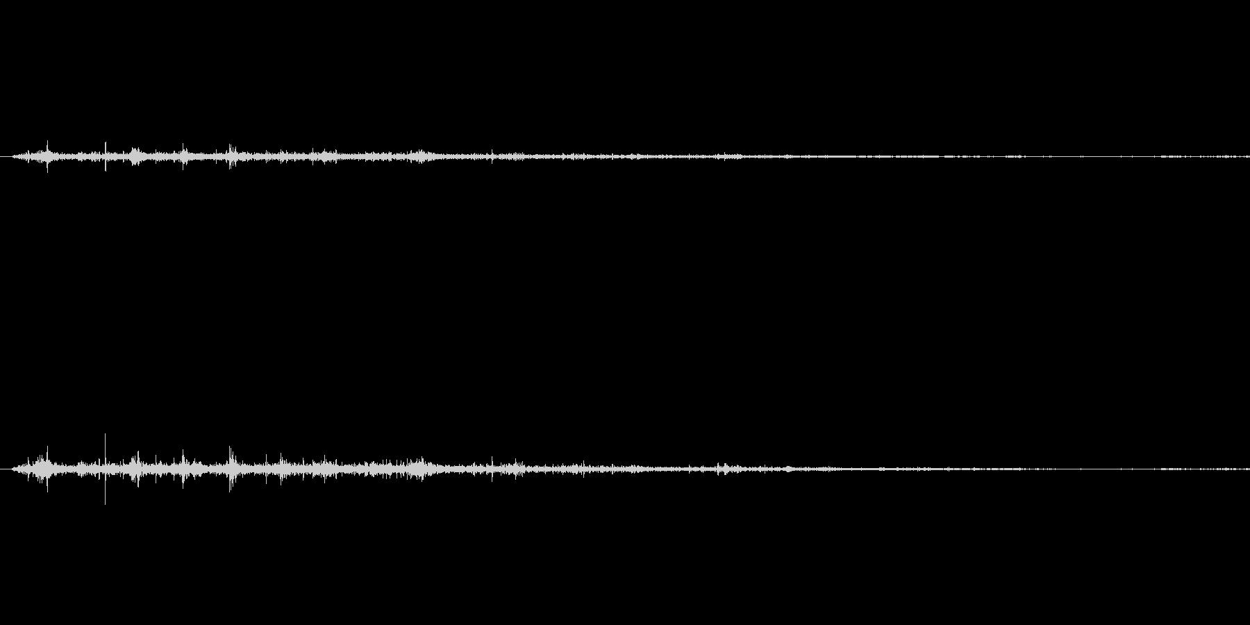 コウモリ達の羽ばたき音1の未再生の波形