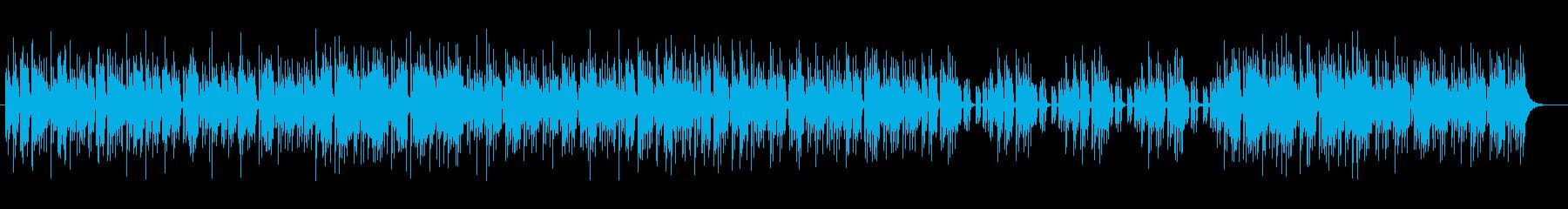 透明でファンタジックなデジタルサウンドの再生済みの波形