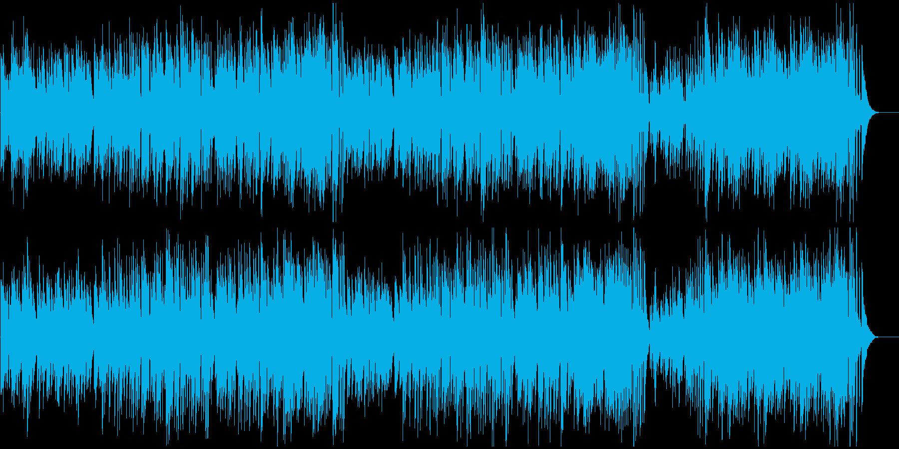 思わずスキップしたくなる軽快なピアノソロの再生済みの波形