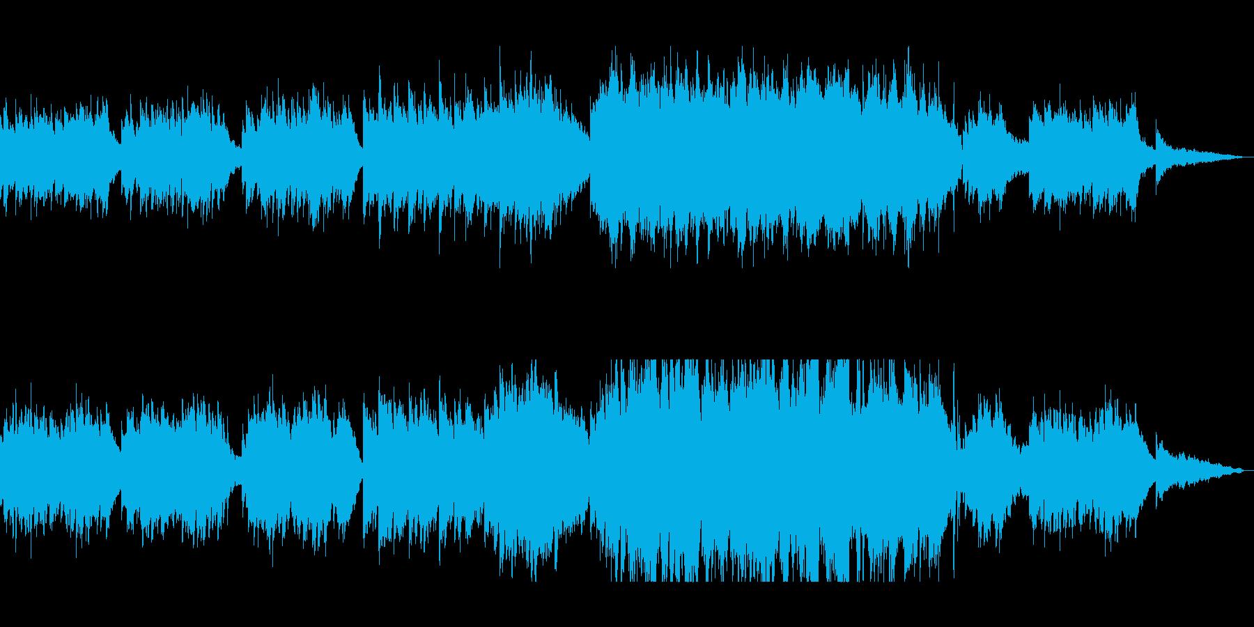 新しい事の始まりに聴きたいウキウキする曲の再生済みの波形