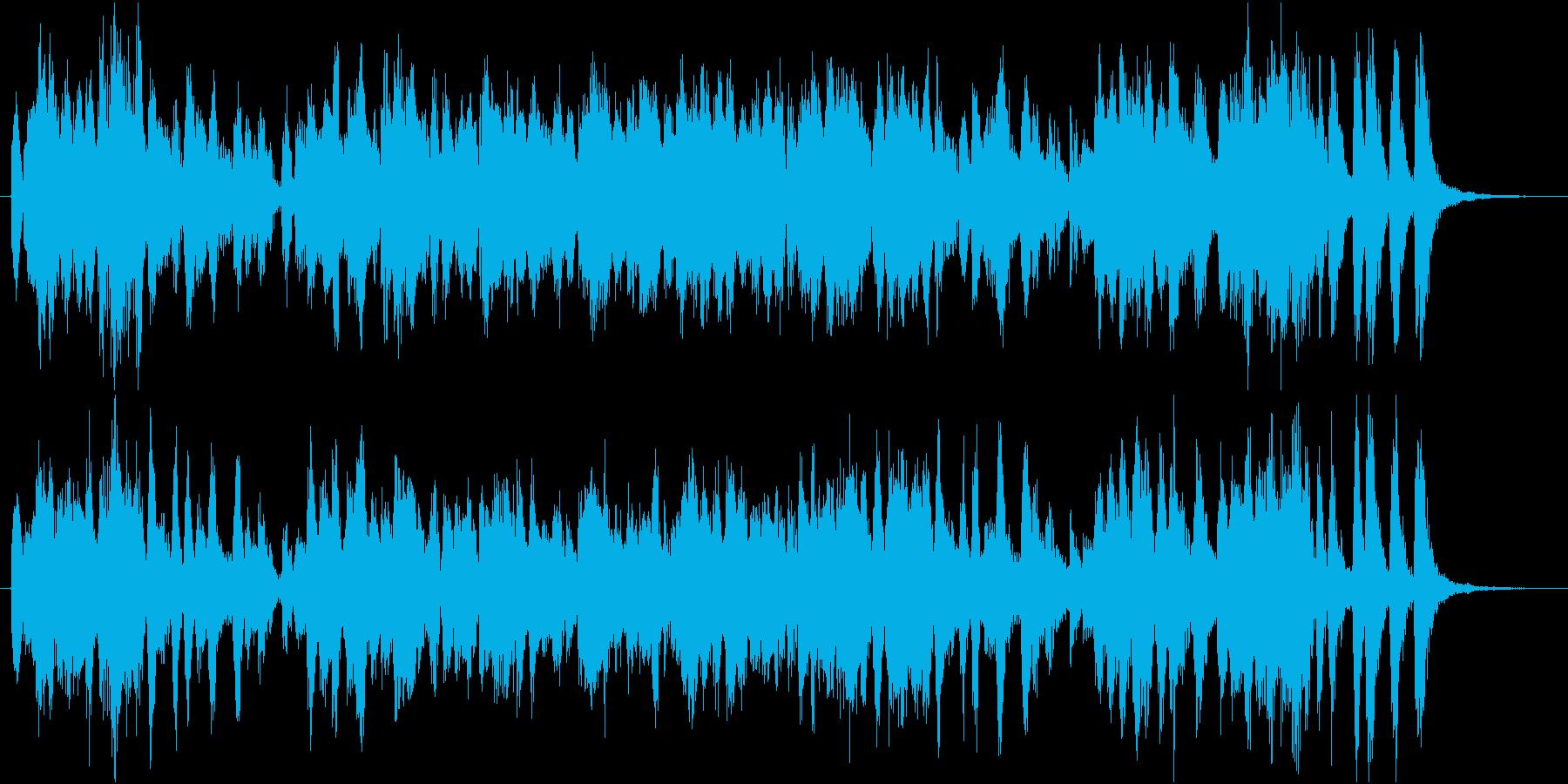 エレキピアノのかわいい軽快なジングルの再生済みの波形