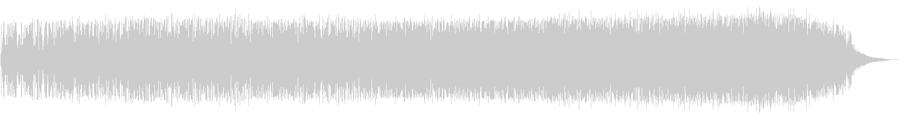 ブオーン(宇宙船の離陸音)の未再生の波形