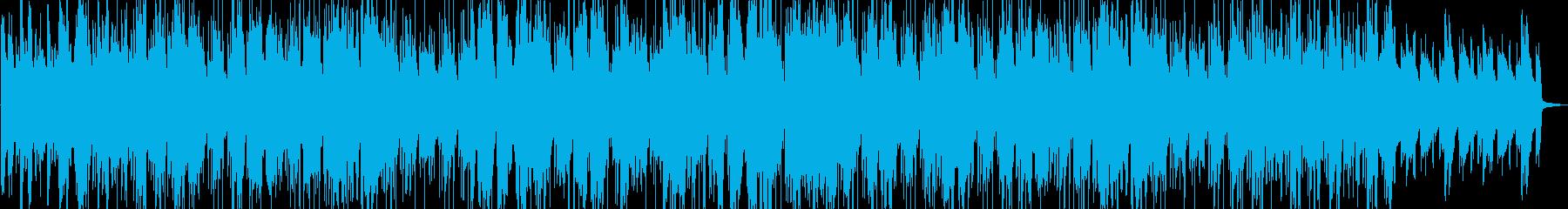 ムーディーなサックスとタランペットのんの再生済みの波形