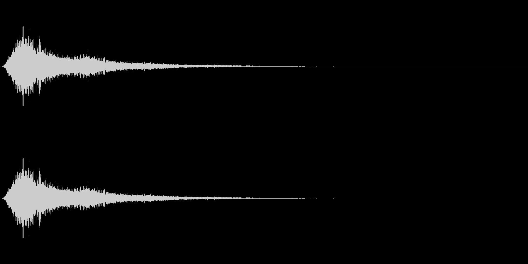 SF 移動音 9の未再生の波形