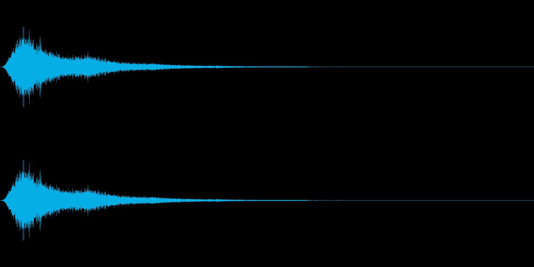 SF 移動音 9の再生済みの波形