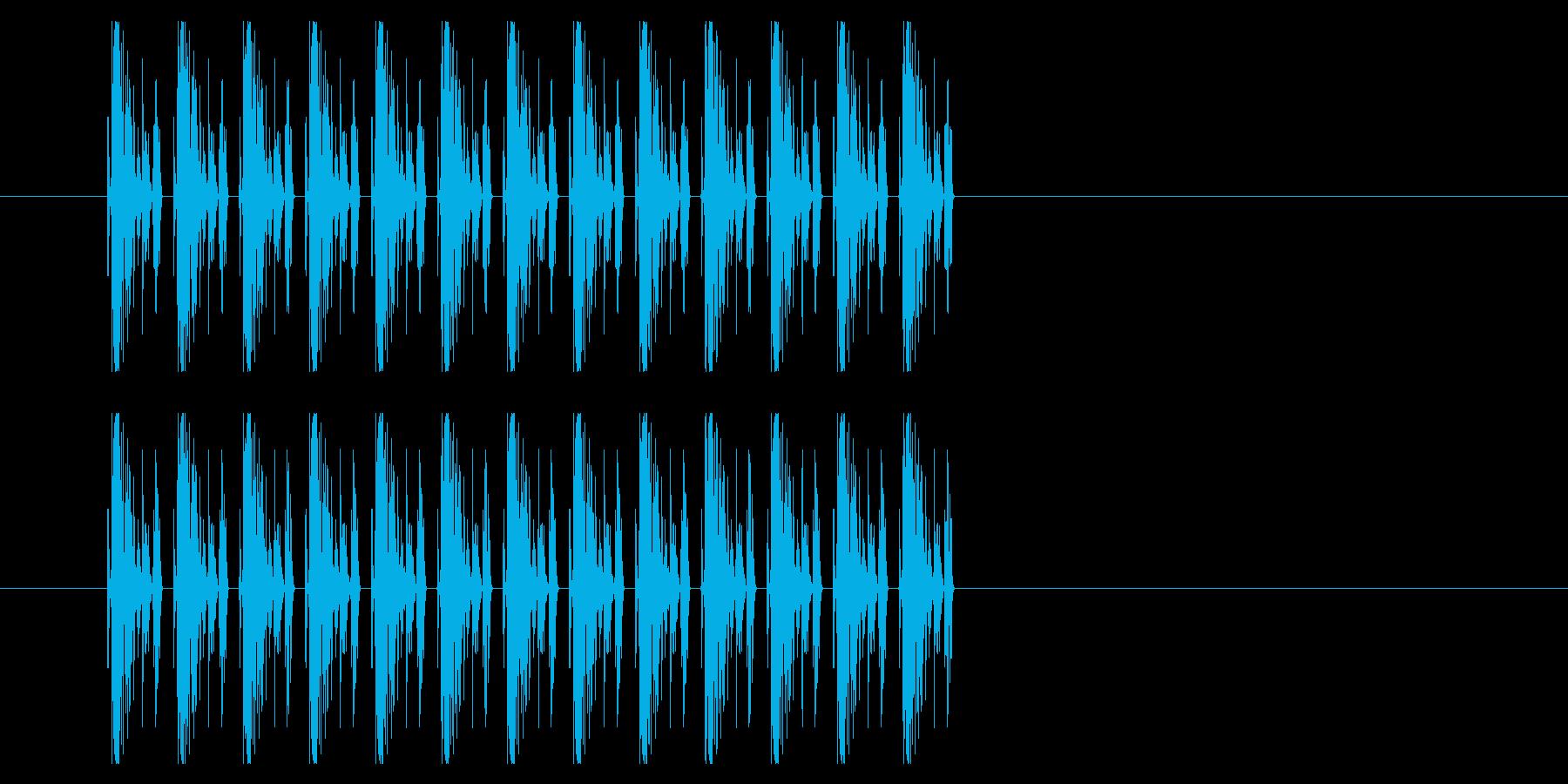 SNES シューティング02-04(発射の再生済みの波形