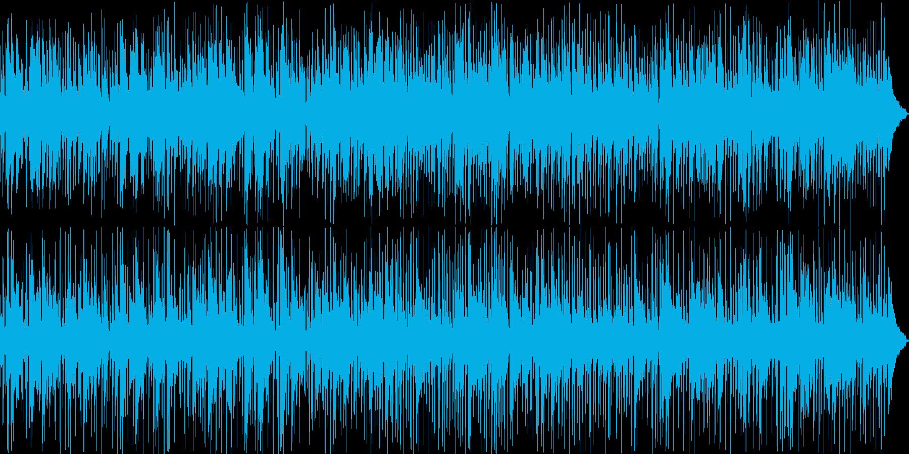 店舗な感じのジャズの再生済みの波形