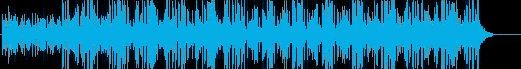 ジングル、ラジオ、時間調整、すき間クールの再生済みの波形