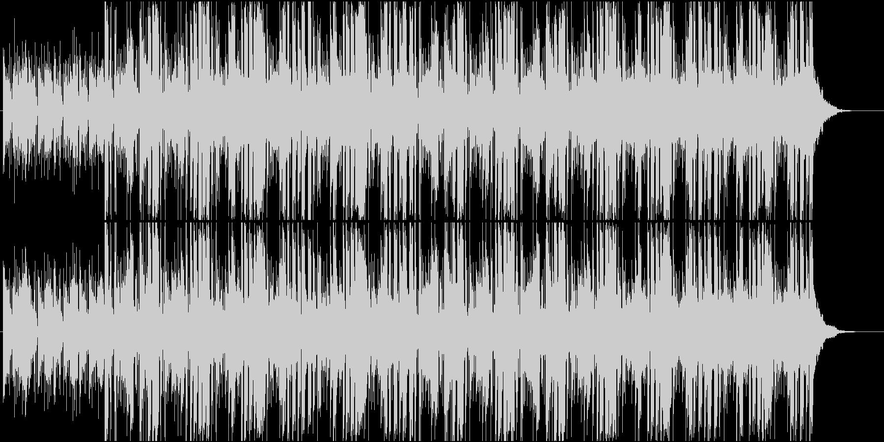 ジングル、ラジオ、時間調整、すき間クールの未再生の波形