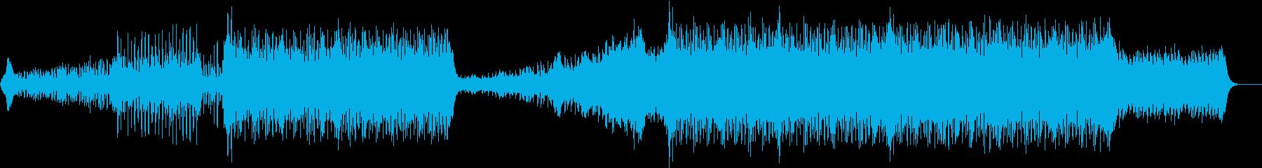 疾走感あふれる和風EDMの再生済みの波形