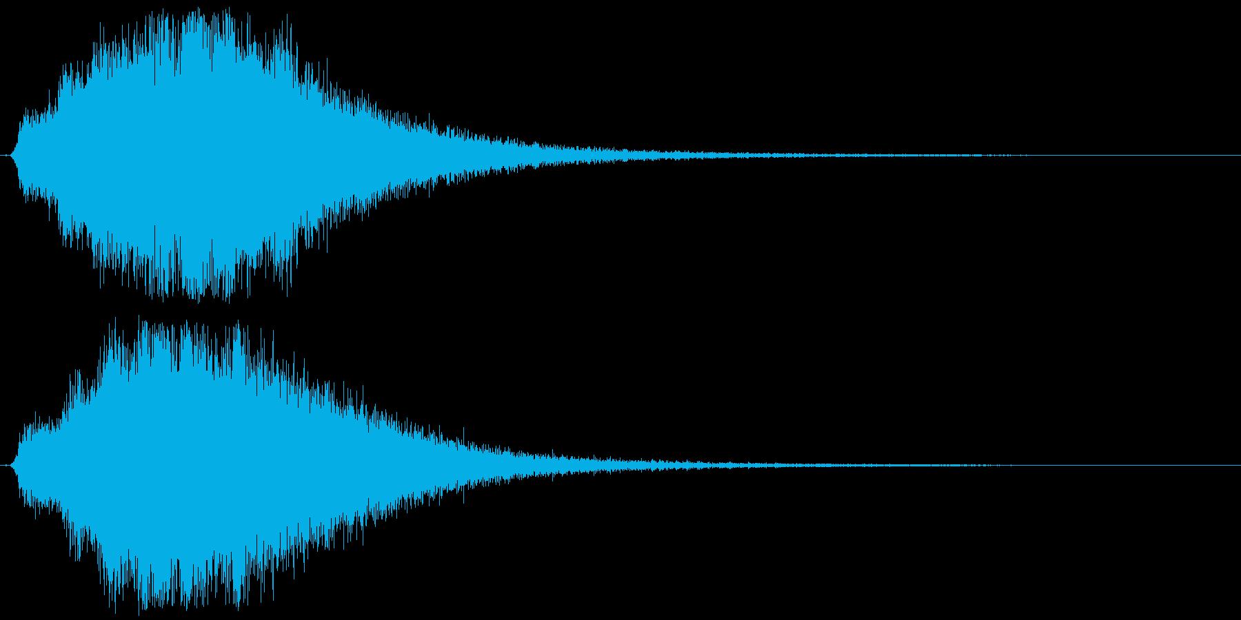 シャキーン☆星,回復,特殊魔法に最適23の再生済みの波形