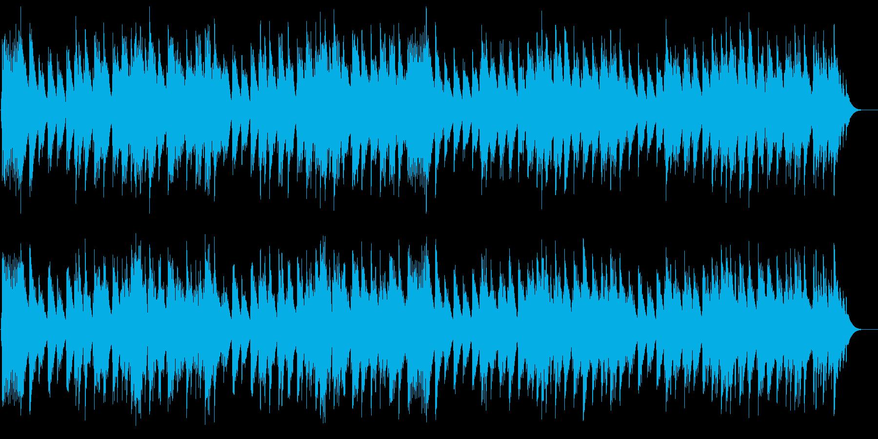 小さな谷の農夫 オルゴールの再生済みの波形