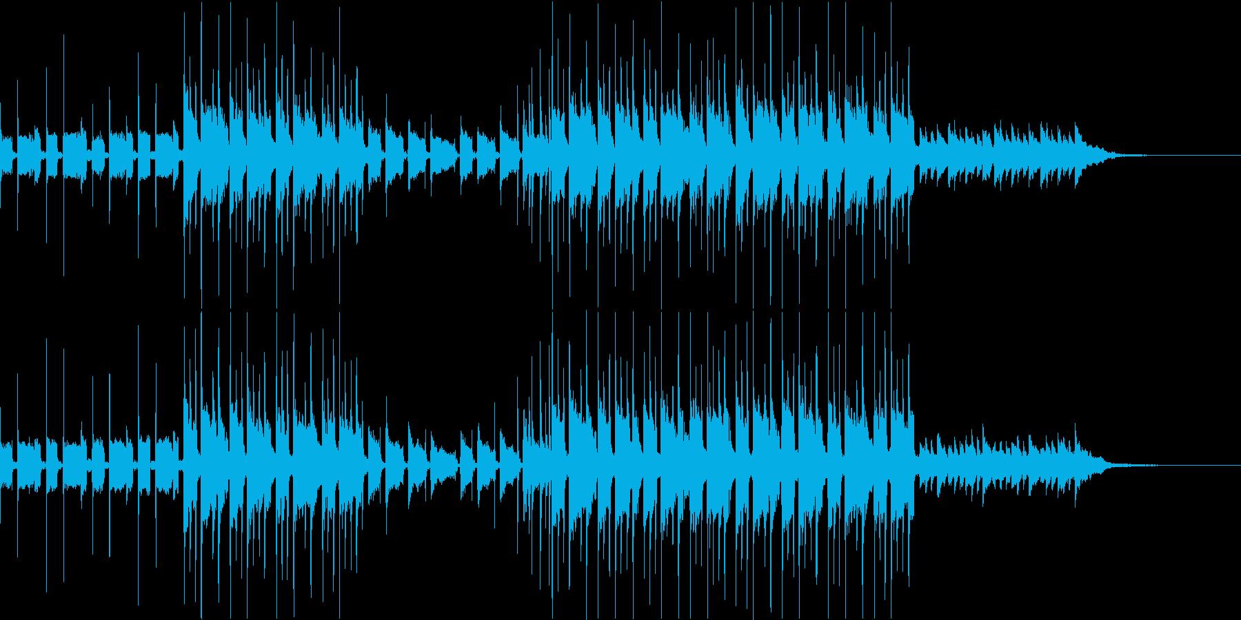 【1分版】やさしくて透明感ギター&ピアノの再生済みの波形