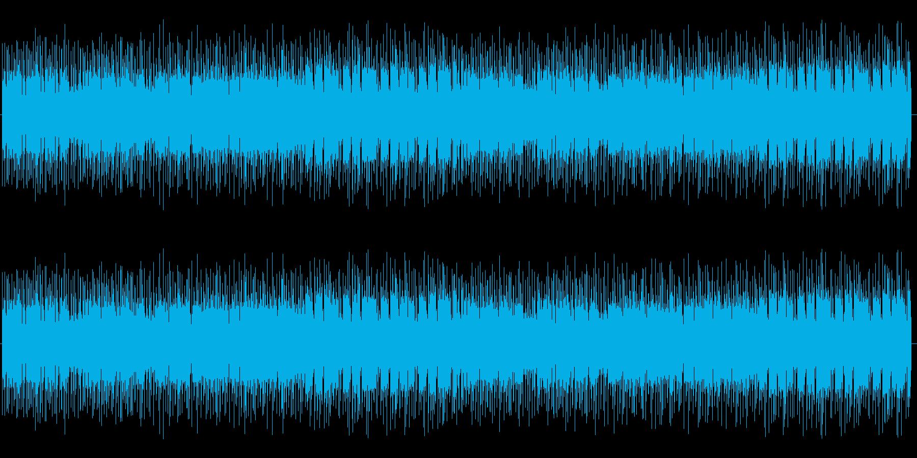 ロックマン風の音楽です。の再生済みの波形