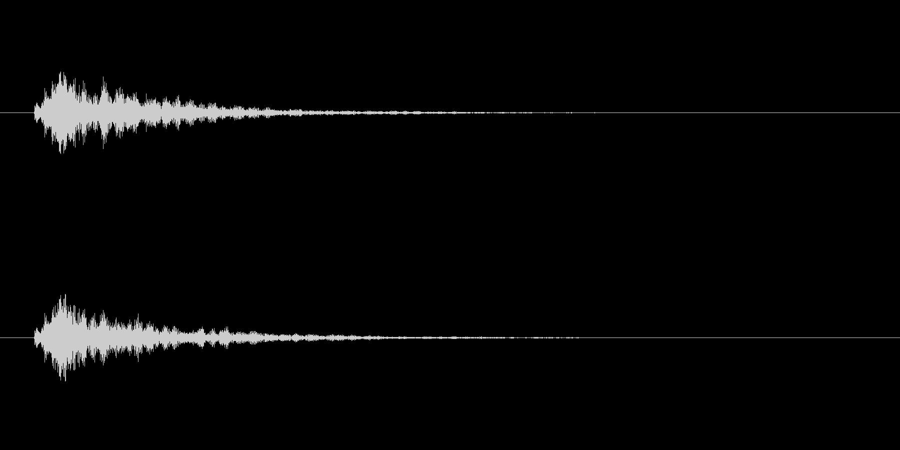【スポットライト01-1】の未再生の波形