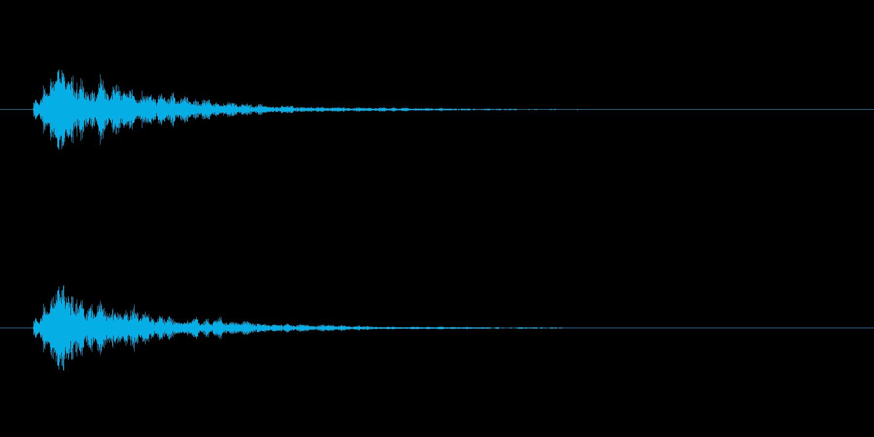 【スポットライト01-1】の再生済みの波形