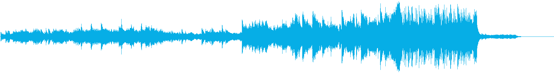 さわやかな小編成オーケストラの再生済みの波形