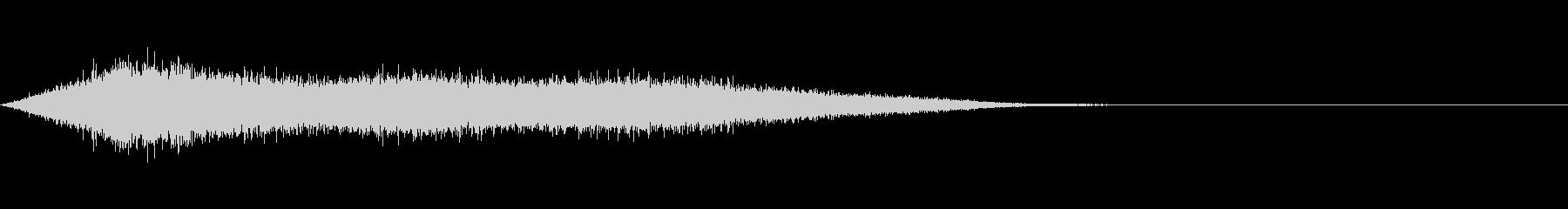 ワァーキャー!コンサートやライブの歓声2の未再生の波形