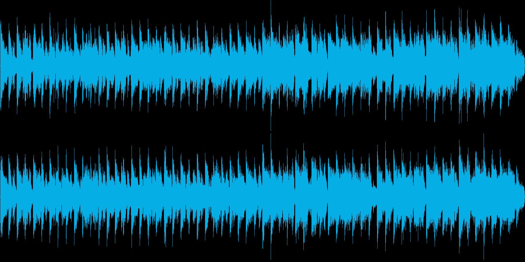 ダンス系の曲で、着信音やオープニングな…の再生済みの波形