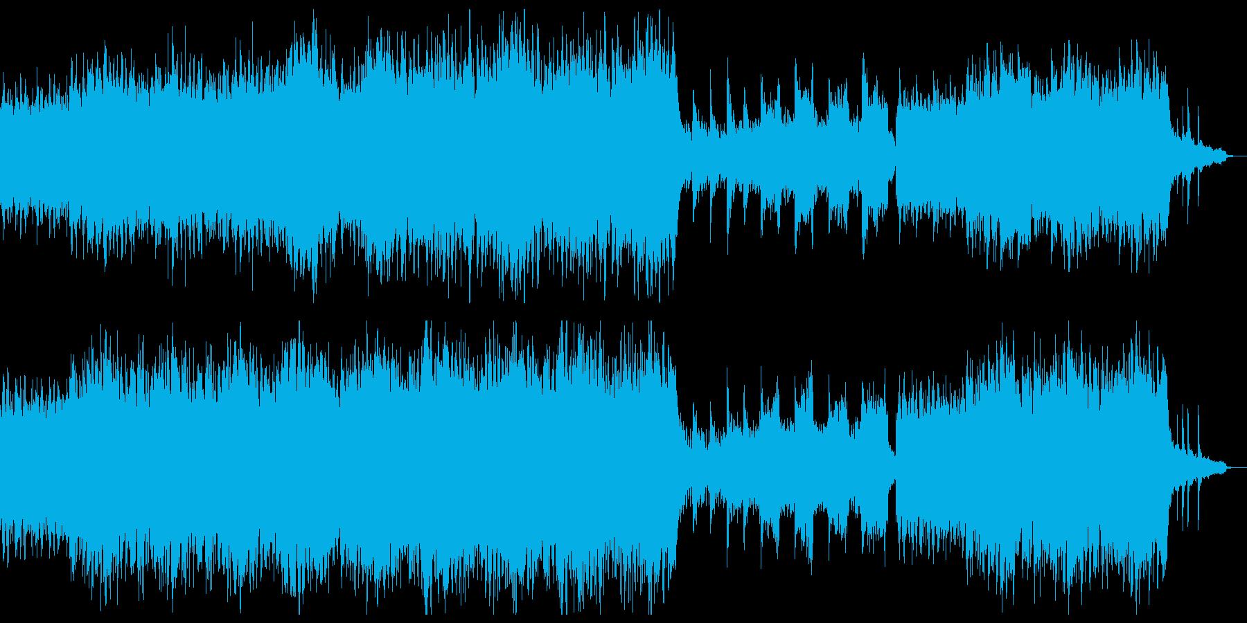 穏やかで切ない感動系シネマティクチル。の再生済みの波形