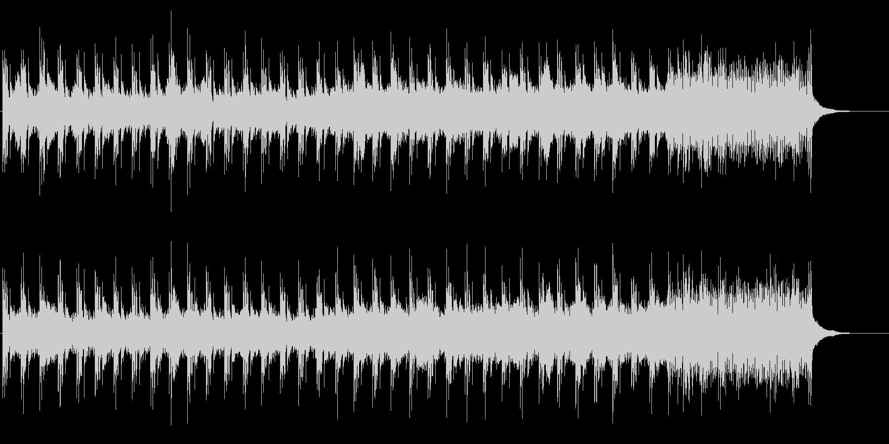 退廃的なムードを漂わせたサウンドの未再生の波形