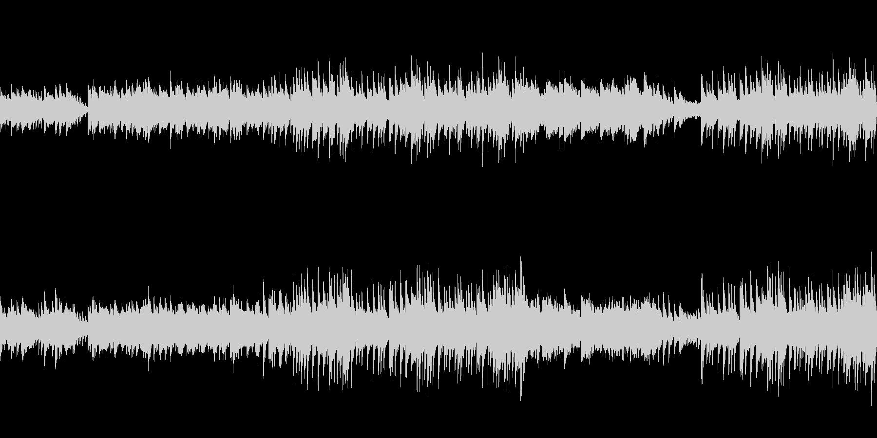 穏やかなピアノ曲4/ループ仕様の未再生の波形