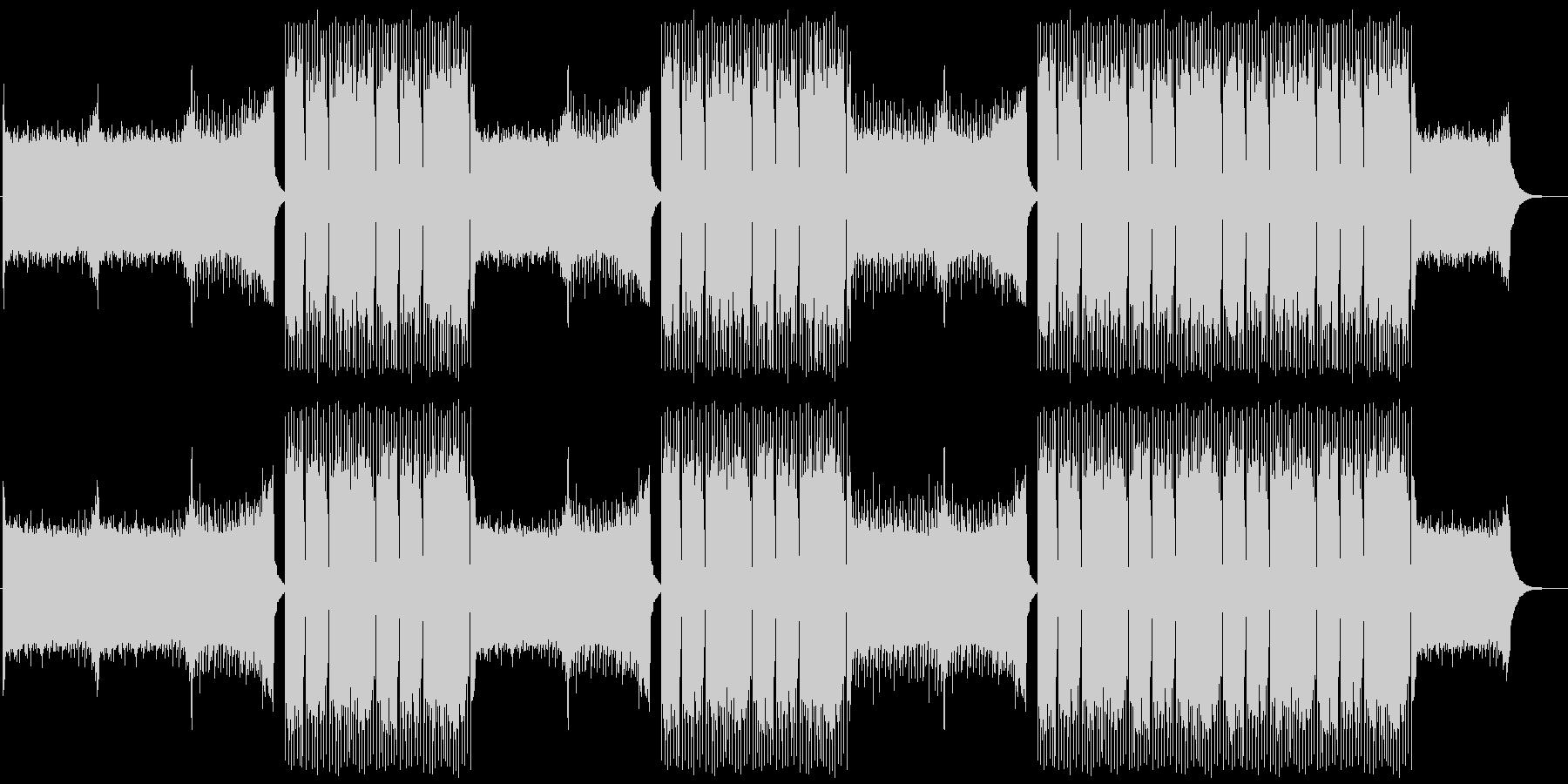 EDMクラブ系ダンスミュージック-07の未再生の波形
