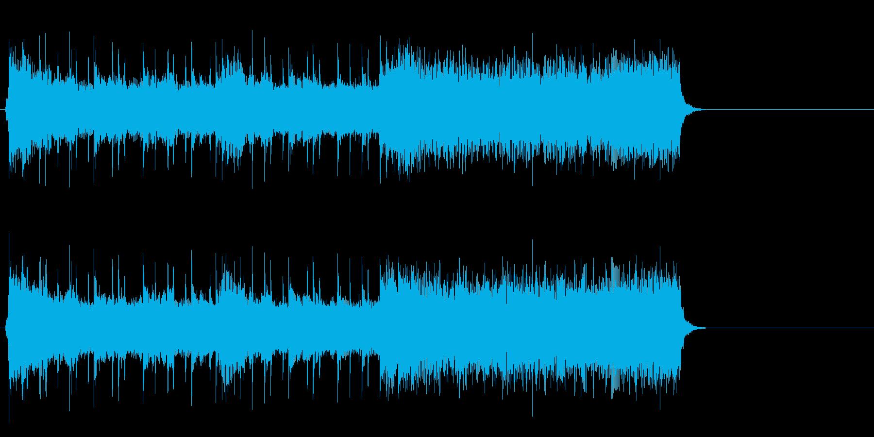 疾走するアメリカンロック(イントロ)の再生済みの波形