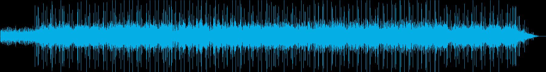 静かに問いかけるオープニングの再生済みの波形