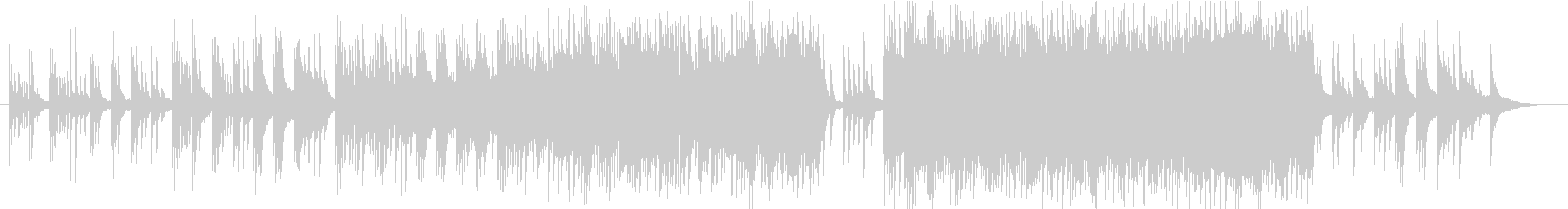 ピアノの旋律が印象的なバラード3の未再生の波形
