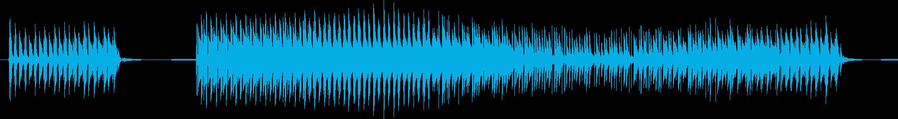 【クイズ】勢いのある不正解音「ブッブー」の再生済みの波形