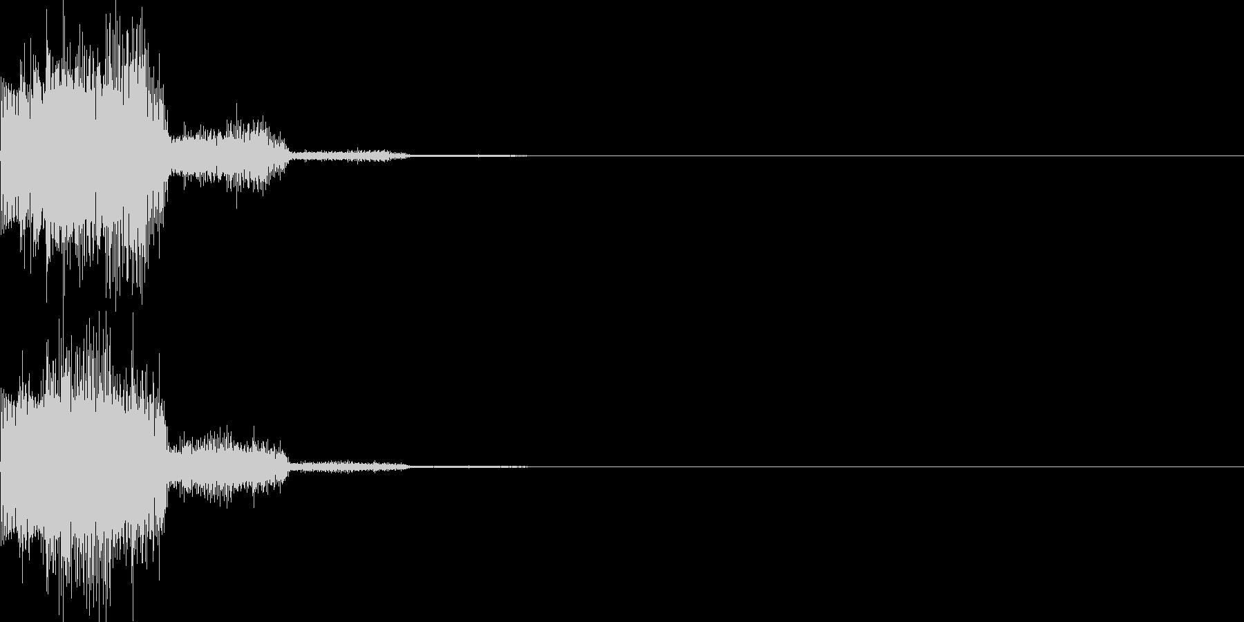 キャンセル音13(シンセ系Q)の未再生の波形