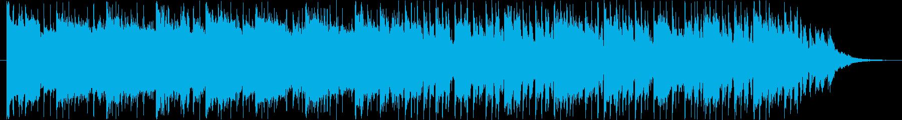 近未来的なBGM(60ver)の再生済みの波形