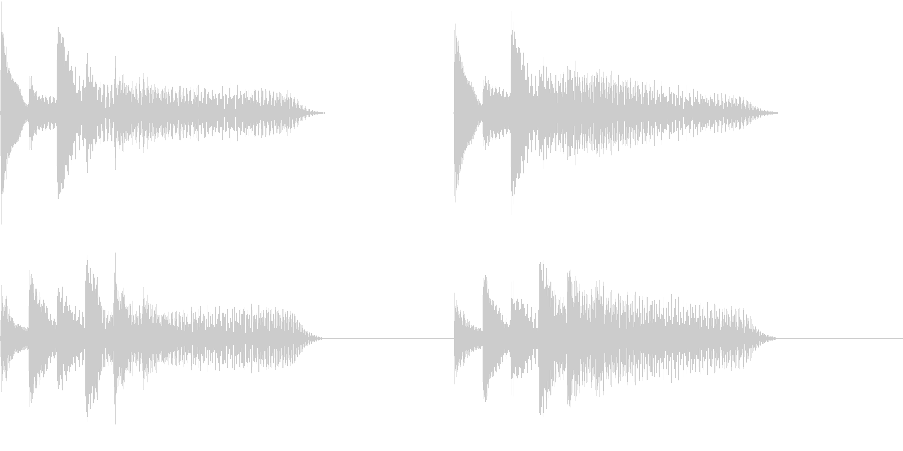 着信音 ループ お知らせ 通知 10の未再生の波形