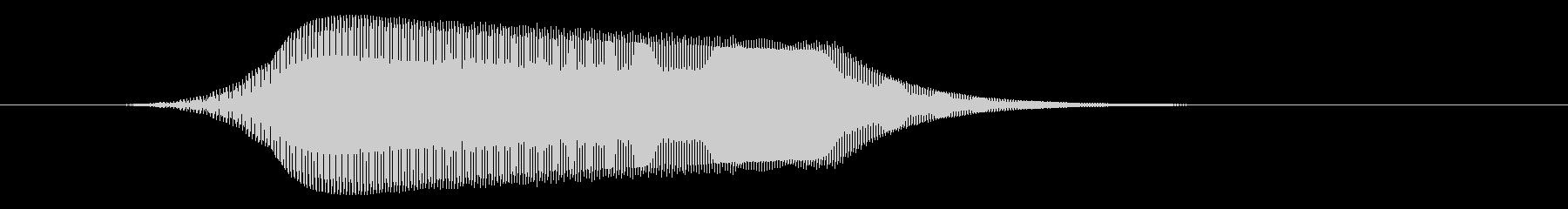 シンセサイザーで作った猫の声です。の未再生の波形